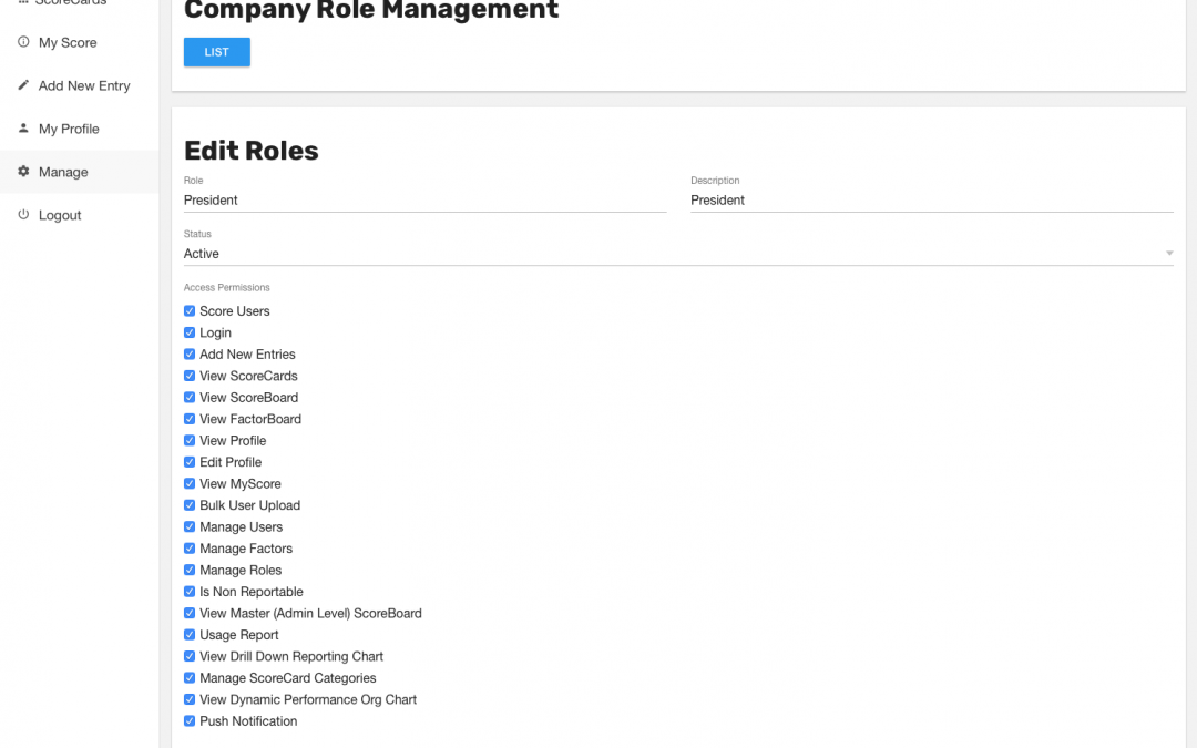 How to Create/Edit Custom Company Roles
